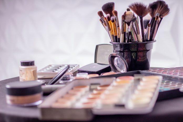 cosmétiques routine