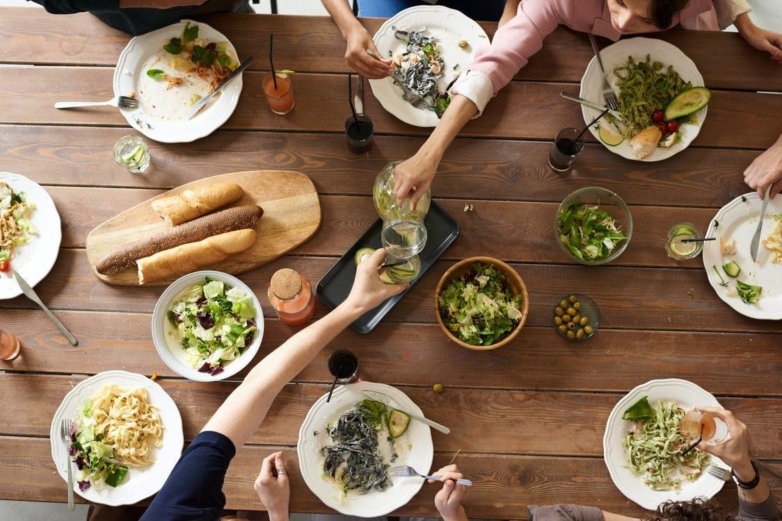 diner huile d'olive