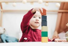 Jouet en bois coool pour enfant