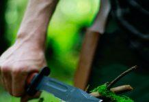Couteau nature survie