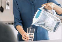 carafe filtrante à eau