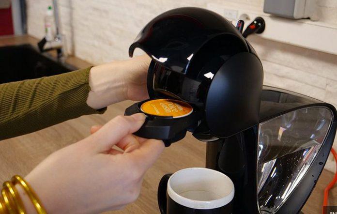 Entre les machines à café Dolce Gusto