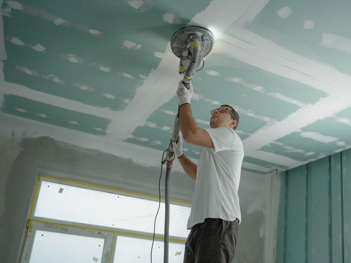 Rénover soi-même son plafond